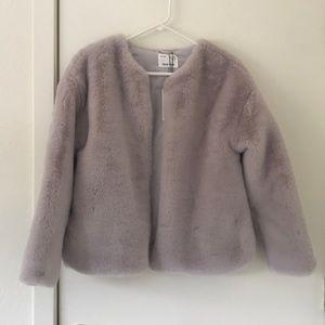 Zara Kids Fluffy Jacket size 13/14